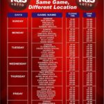 rns lotto time table